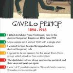 gavrilo princip, world war 1, serbian nationalist, black hand, archduke franz ferdinand, card game, educational games, facts for children