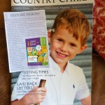 history heroes, CHILDREN, card game, review, country child, magazine