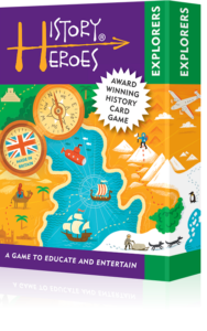 History Heroes: EXPLORERS - History quiz cards