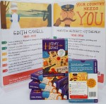 History heroes, world war 1, card game