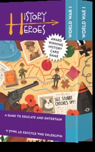 History Heroes: WORLD WAR 1 - Educational card games