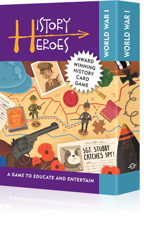 History Heroes: WORLD WAR 1 - Educational card games