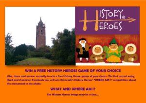 History Heroes, History Heroes card games
