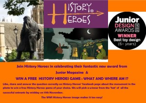 History Heroes' facebook competition