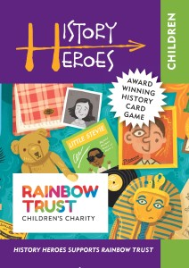 History Heroes new card game: Children