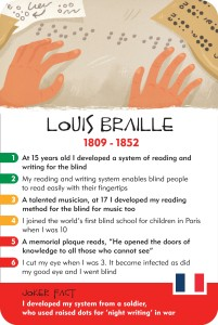 Louis Braille, History Heroes, Children game