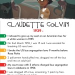 History Heroes: CHILDREN, Claudette Colvin - Civil Rights Campaigner