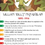 billy mcfadzean, world war one, history heroes, card games, battle of the somme, educational games, facts for children