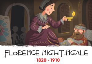 inventors, florence nightingale, history heroes, card game