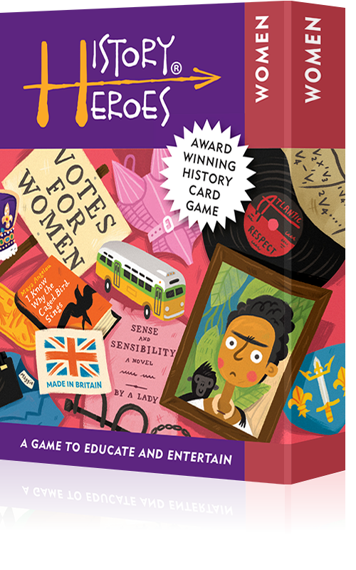History Heroes WOMEN - Fun history quiz games
