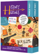 History Heroes WORLD WAR ONE - educational history card games