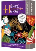History Heroes: WORLD WAR 2 - Educational card games
