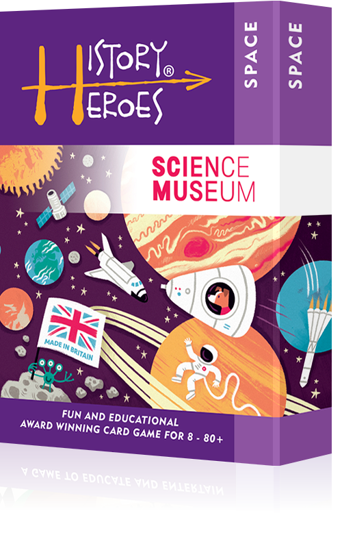 History Heroes SPACE - a fun ways to learn the history of space exploration