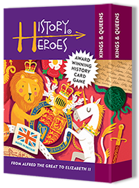 History Heroes - KINGS & QUEENS of British History Card Game