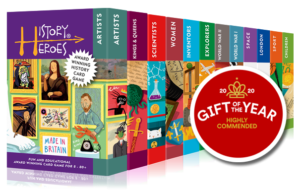 Gift of the Year - History Heroes Childrens Card Games