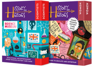 History Heroes Twin Pack - SCIENTISTS + WOMEN Card Games