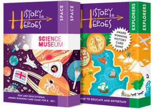 History Heroes Twin Pack - SPACE + EXPLORERS Card Games