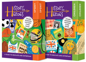 History Heroes Twin Pack - SPORT + CHILDREN Educational Card Games
