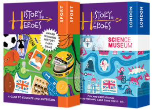 History Heroes Twin Pack - SPORT + LONDON Educational Card Games