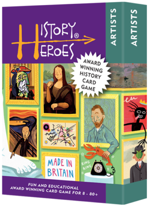 History Heroes ARTISTS Card Game