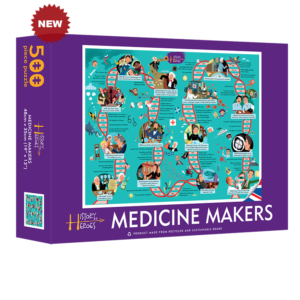 History Heroes' - Medicine Makers 500 piece jigsaw puzzle