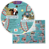 Closeup of History Heroes' Medicine Makers jigsaw puzzle