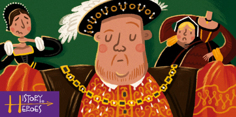 history heroes kings and queens card game, henry viii,