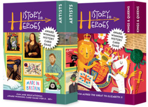 History Heroes Twin Pack - ARTISTS + KINGS & QUEENS