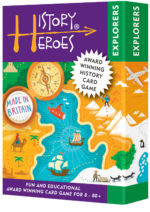 History Heroes EXPLORERS - history quiz cards