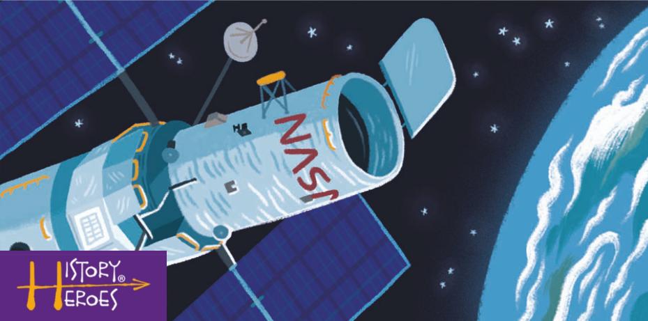 History heroes edwin hubble, space scientistst