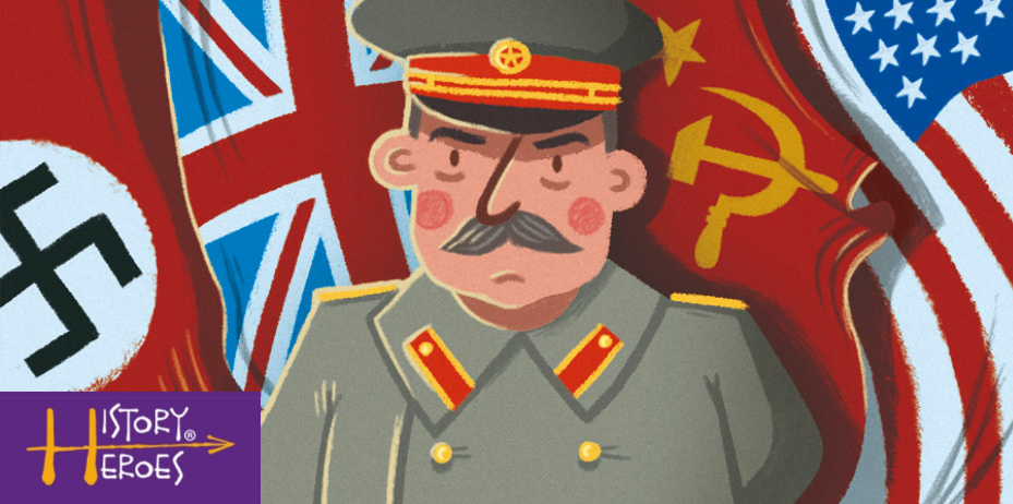 History Heroes Stalin, world war two game, family game, homeschooling