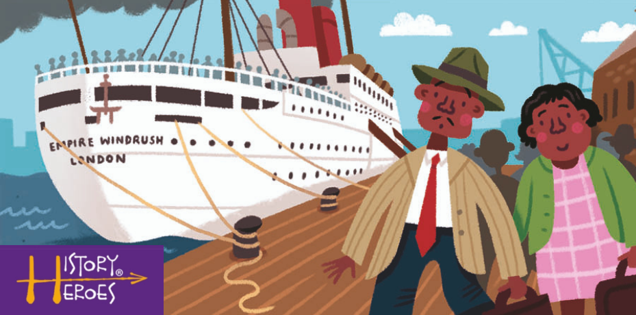 History Heroes, windrush, history of london, birth of the NHS