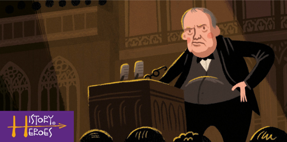 History Heroes winston churchill, world war two educational game