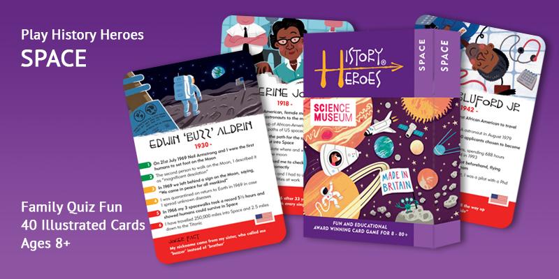 History Heroes space quiz